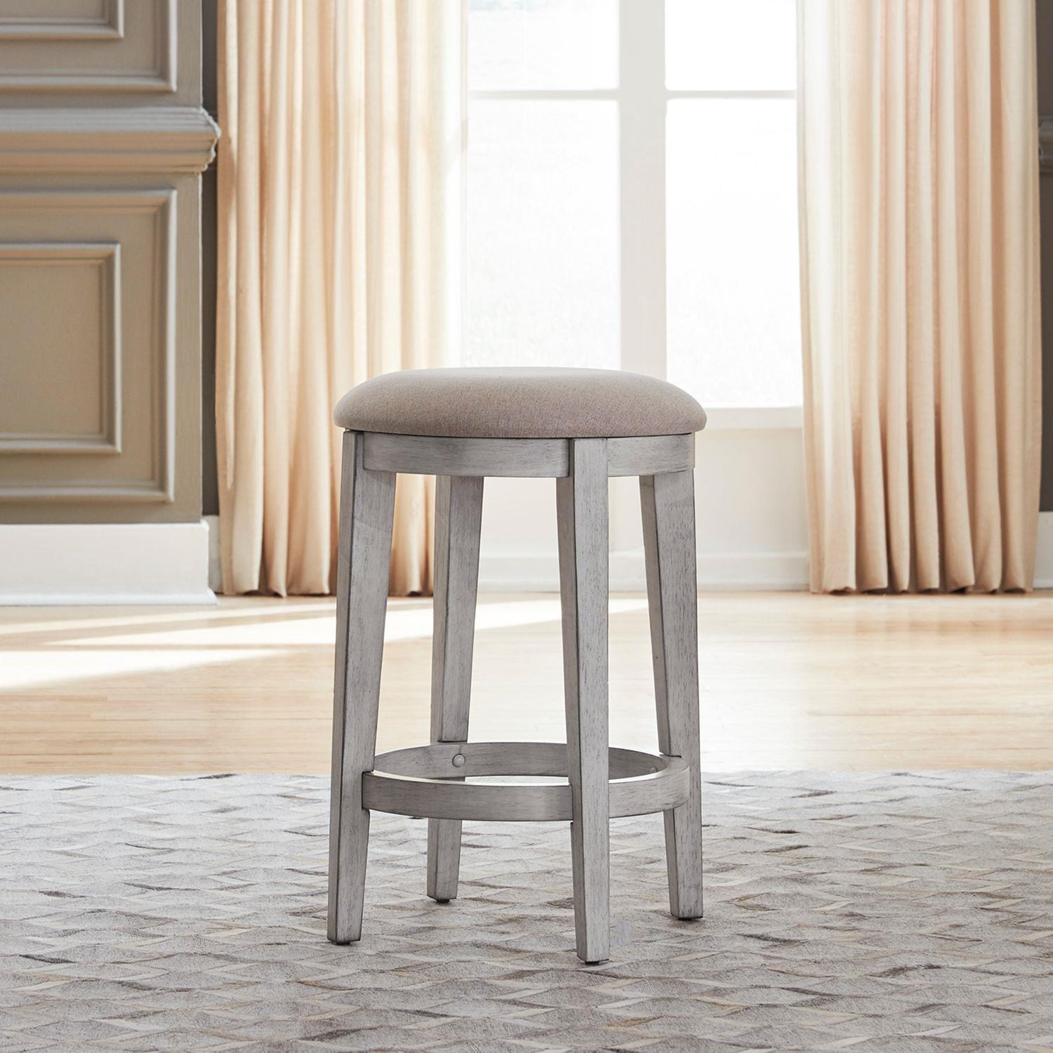 Ocean Isle Console Stool by Liberty Furniture at Johnny Janosik