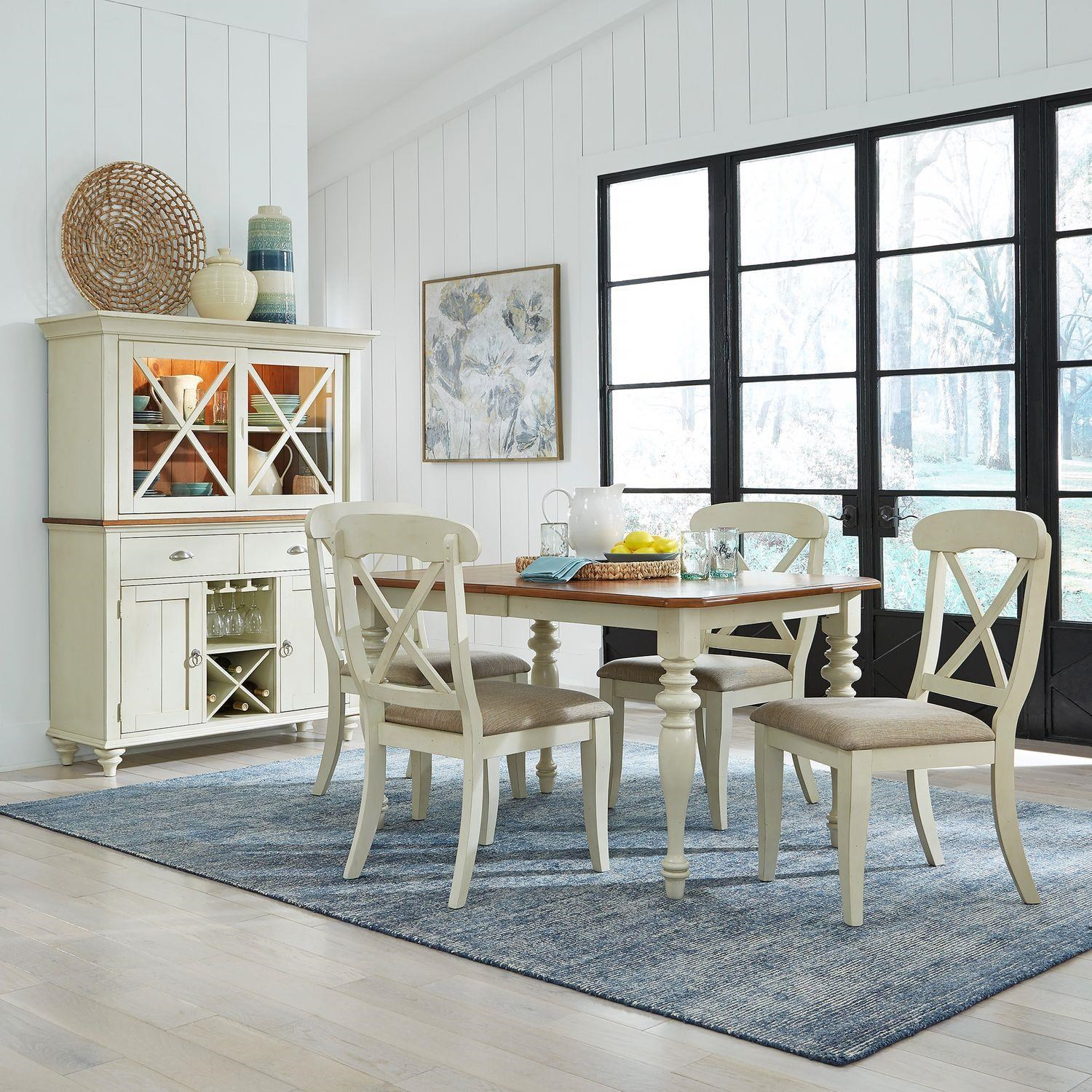 Ocean Isle Gathering Table and Chairs by Liberty Furniture at Johnny Janosik