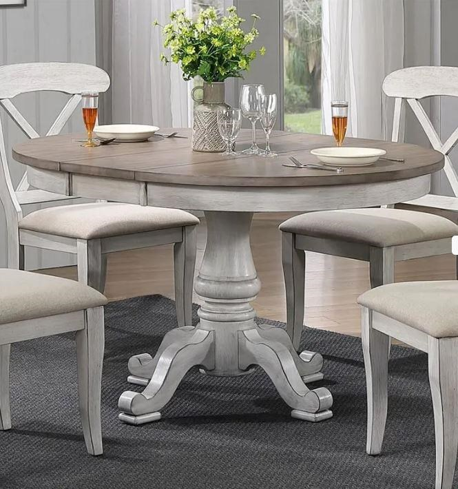 Ocean Isle Round Table and Side Chairs by Liberty Furniture at Johnny Janosik