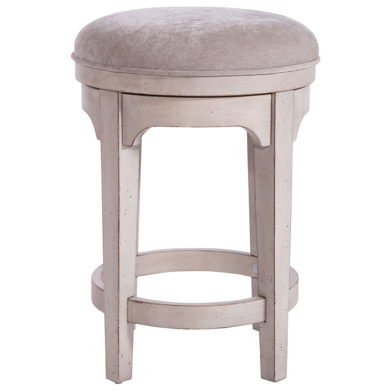 Parisian Marketplace Console Swivel Stool by Libby at Walker's Furniture