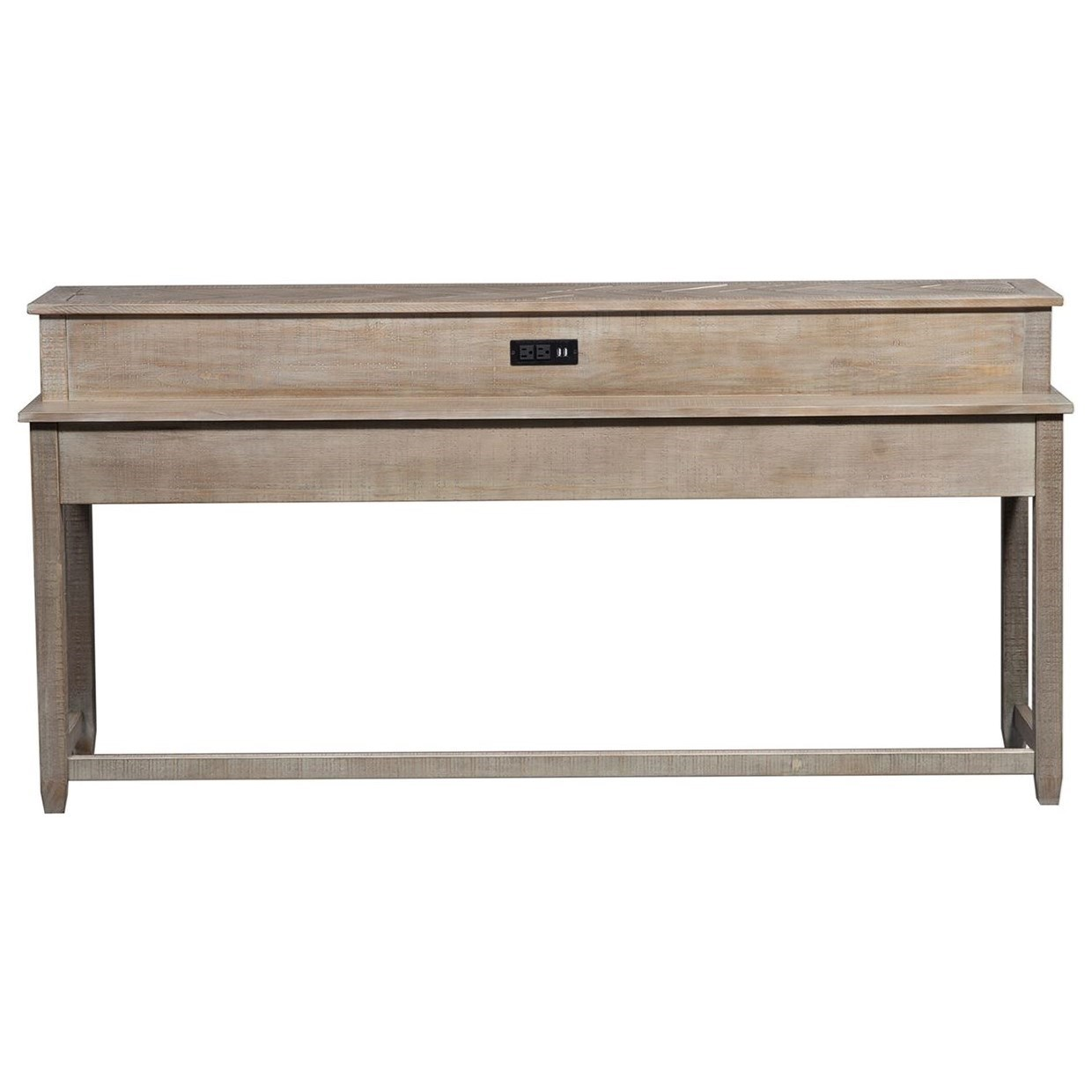 Parkland Falls Console Bar Table by Liberty Furniture at Zak's Home