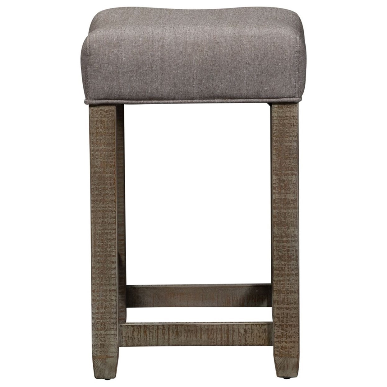 Parkland Falls Upholstered Stool by Libby at Walker's Furniture