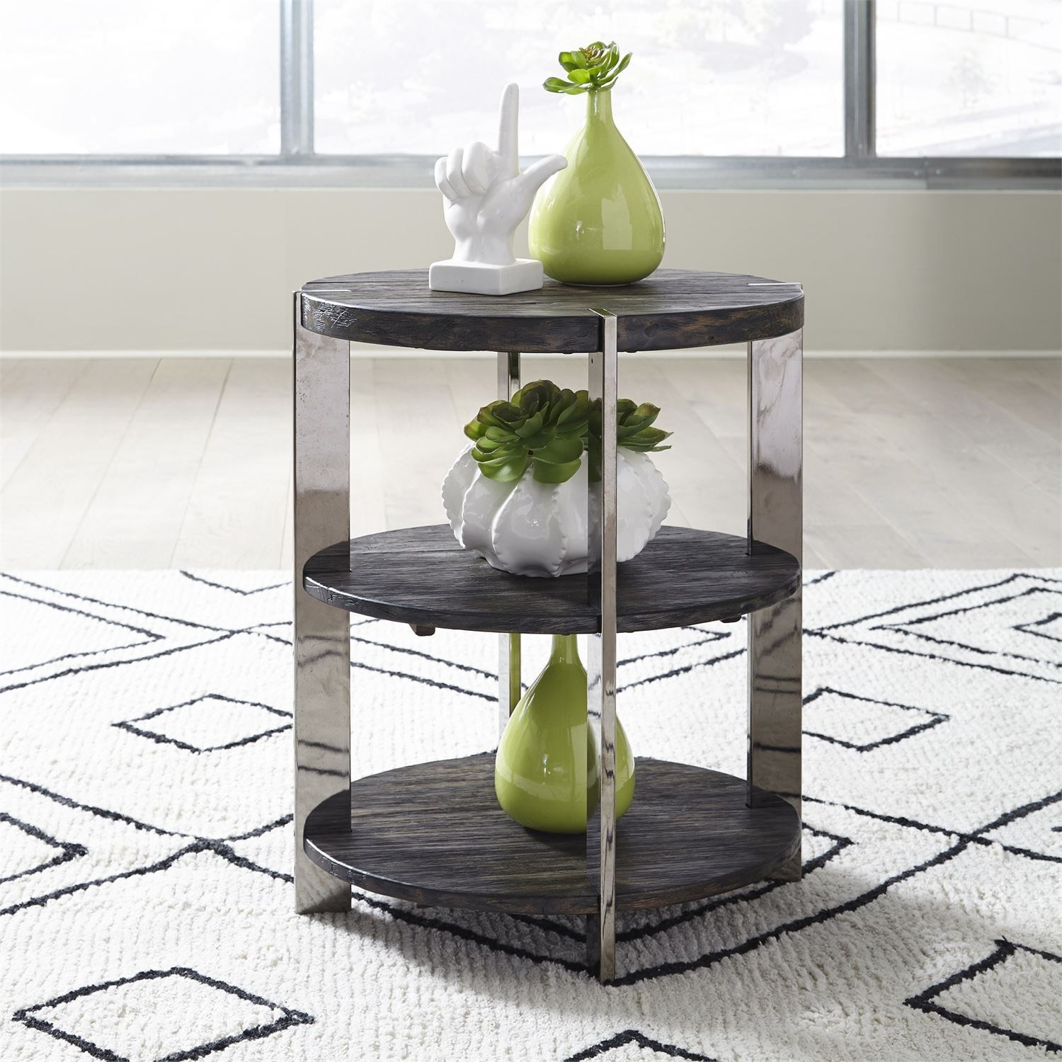 Paxton Chairside Table by Liberty Furniture at Darvin Furniture