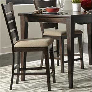 Liberty Furniture Pebble Creek Ladder Back Counter Chair