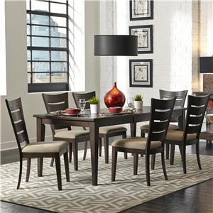 Liberty Furniture Pebble Creek 7 Piece Dining Set