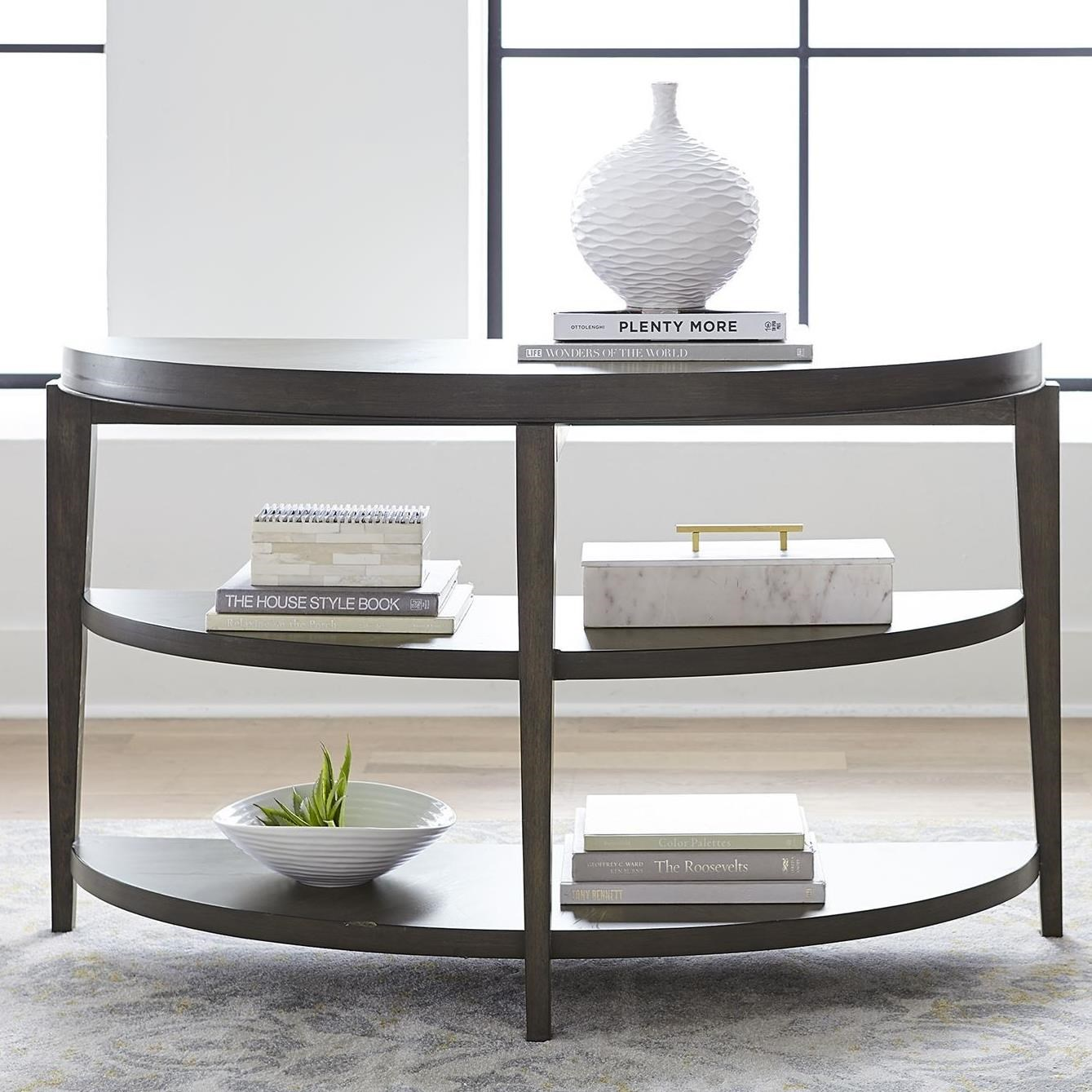 Penton Sofa Table by Libby at Walker's Furniture