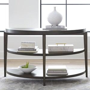 Contemporary 2-Shelf Sofa Table