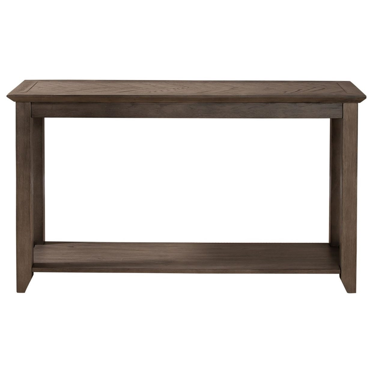 Rawson Sofa Table by Libby at Walker's Furniture