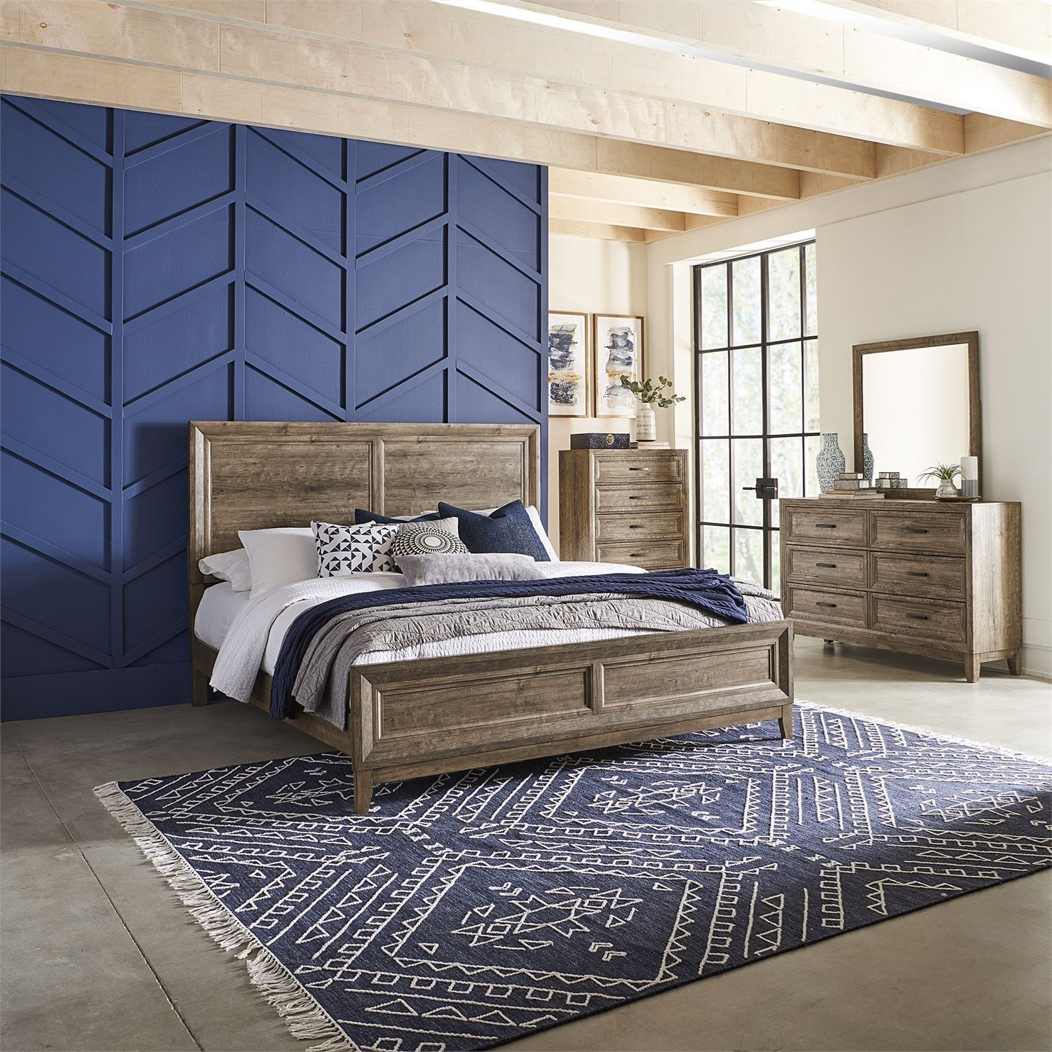 Ridgecrest California King Bedroom Group by Liberty Furniture at Northeast Factory Direct