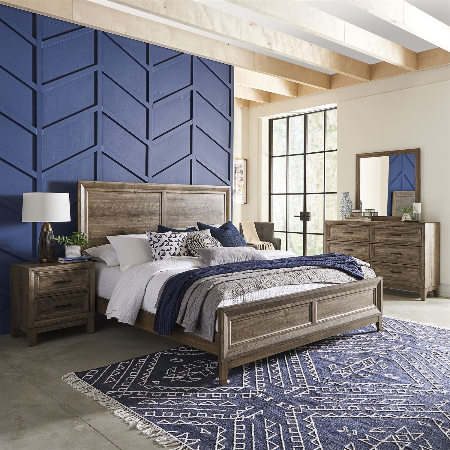 Ridgecrest California King Bedroom Group by Liberty Furniture at Suburban Furniture