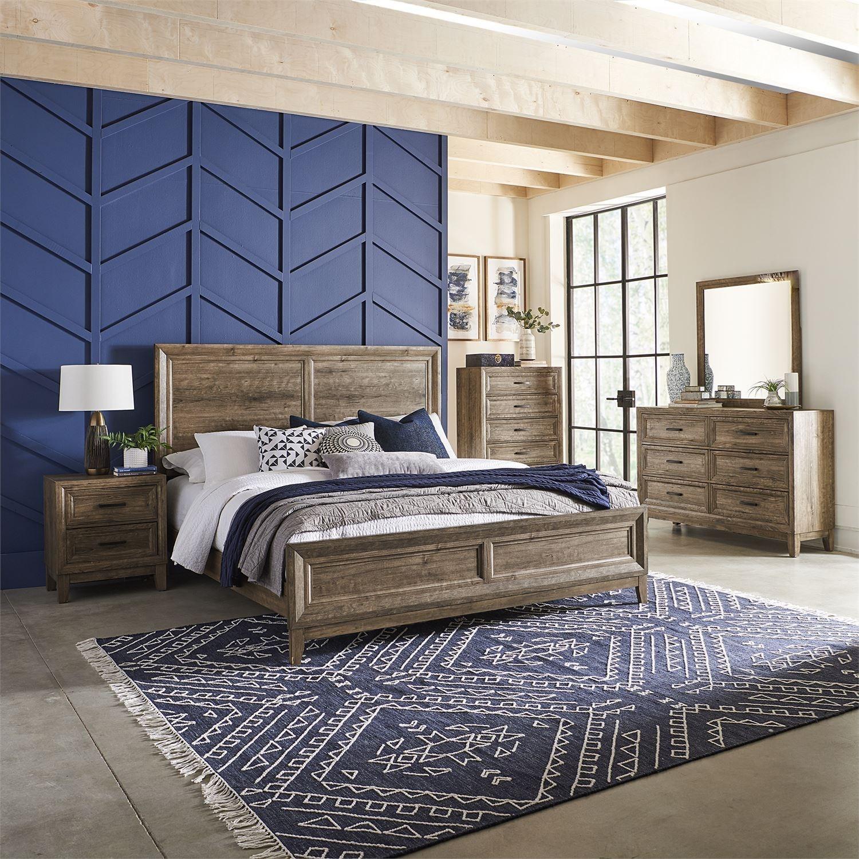 Ridgecrest King Bedroom Group by Libby at Walker's Furniture