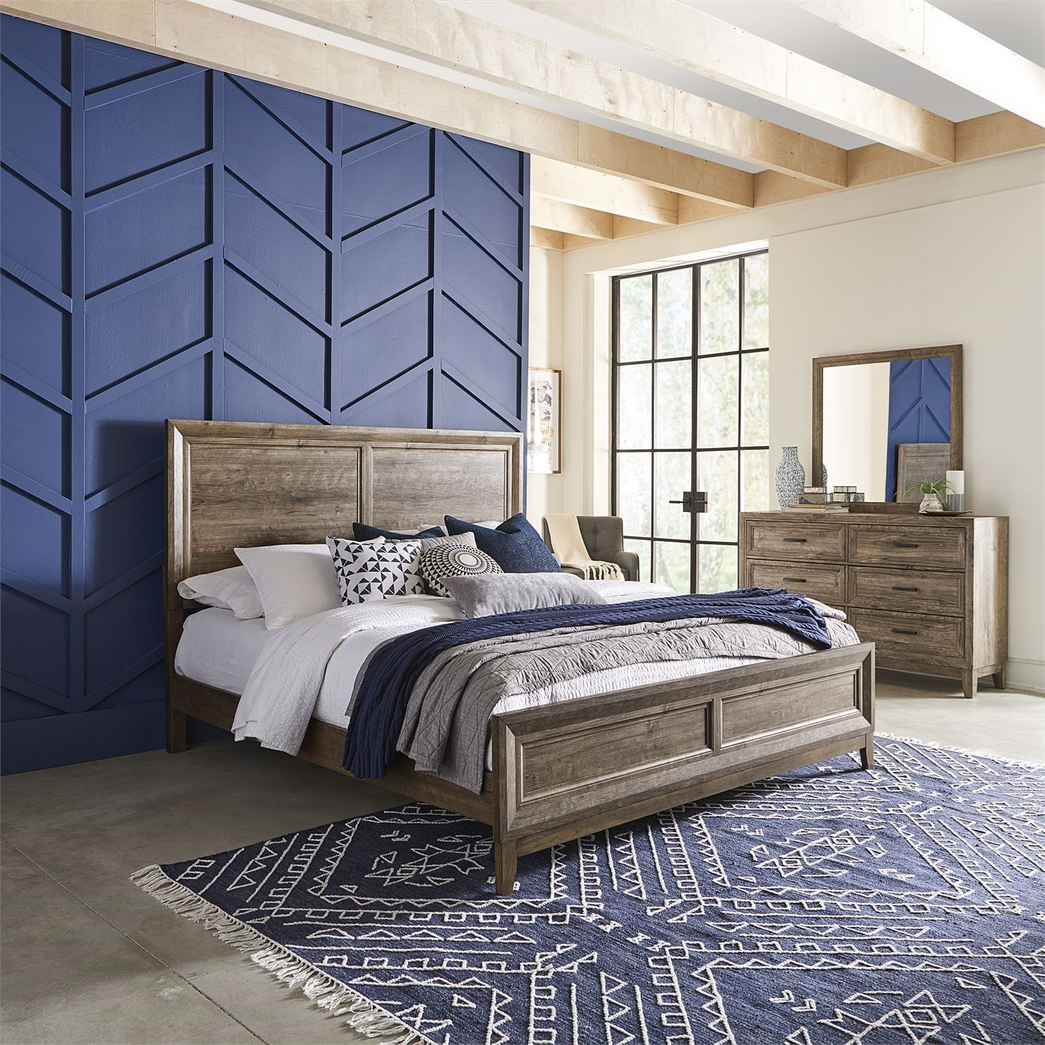 Ridgecrest Queen Bedroom Group by Liberty Furniture at Godby Home Furnishings