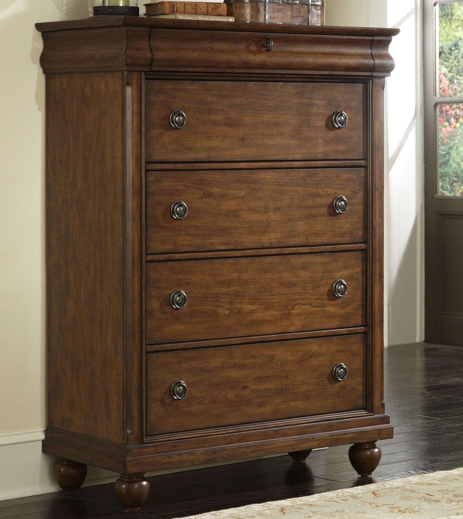 Rustic Traditions Chest by Liberty Furniture at Suburban Furniture