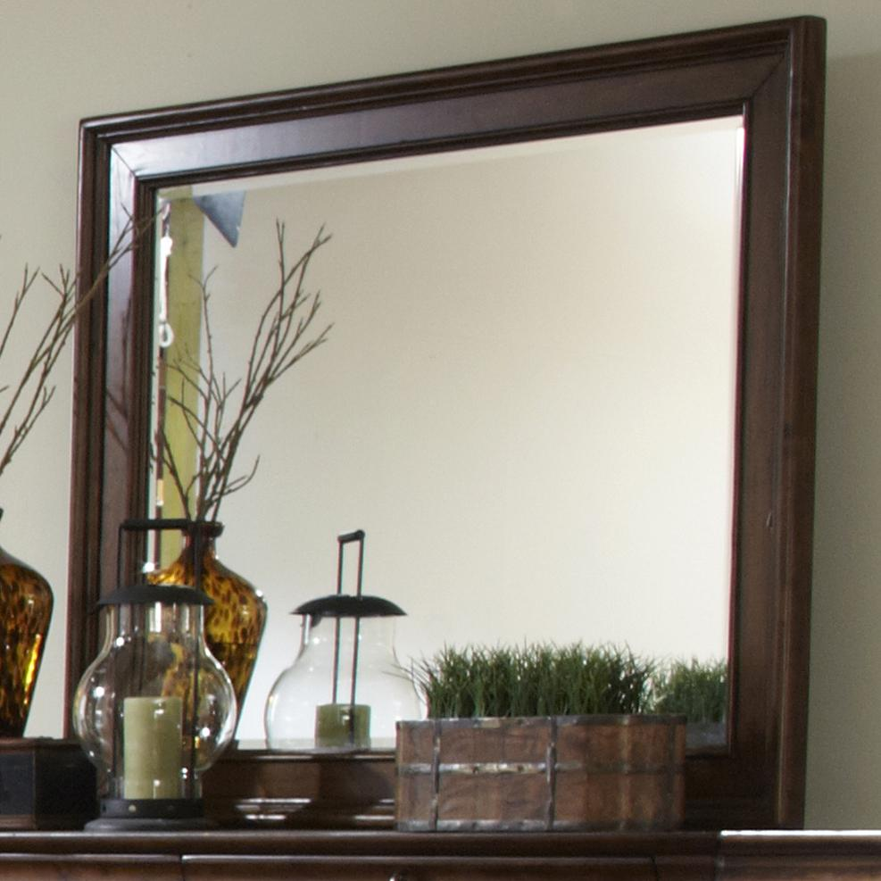 Rustic Traditions Landscape Mirror by Libby at Walker's Furniture