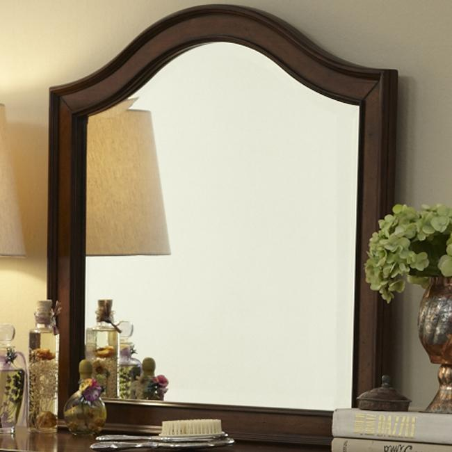 Rustic Traditions Vanity Deck Mirror by Liberty Furniture at Northeast Factory Direct