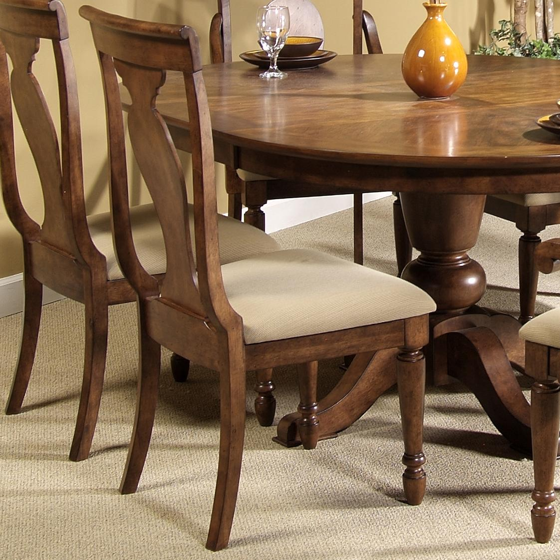 Rustic Traditions Splat Back Side Chair by Liberty Furniture at Lapeer Furniture & Mattress Center