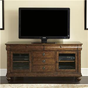 Liberty Furniture Rustic Traditions Media Chest With 3