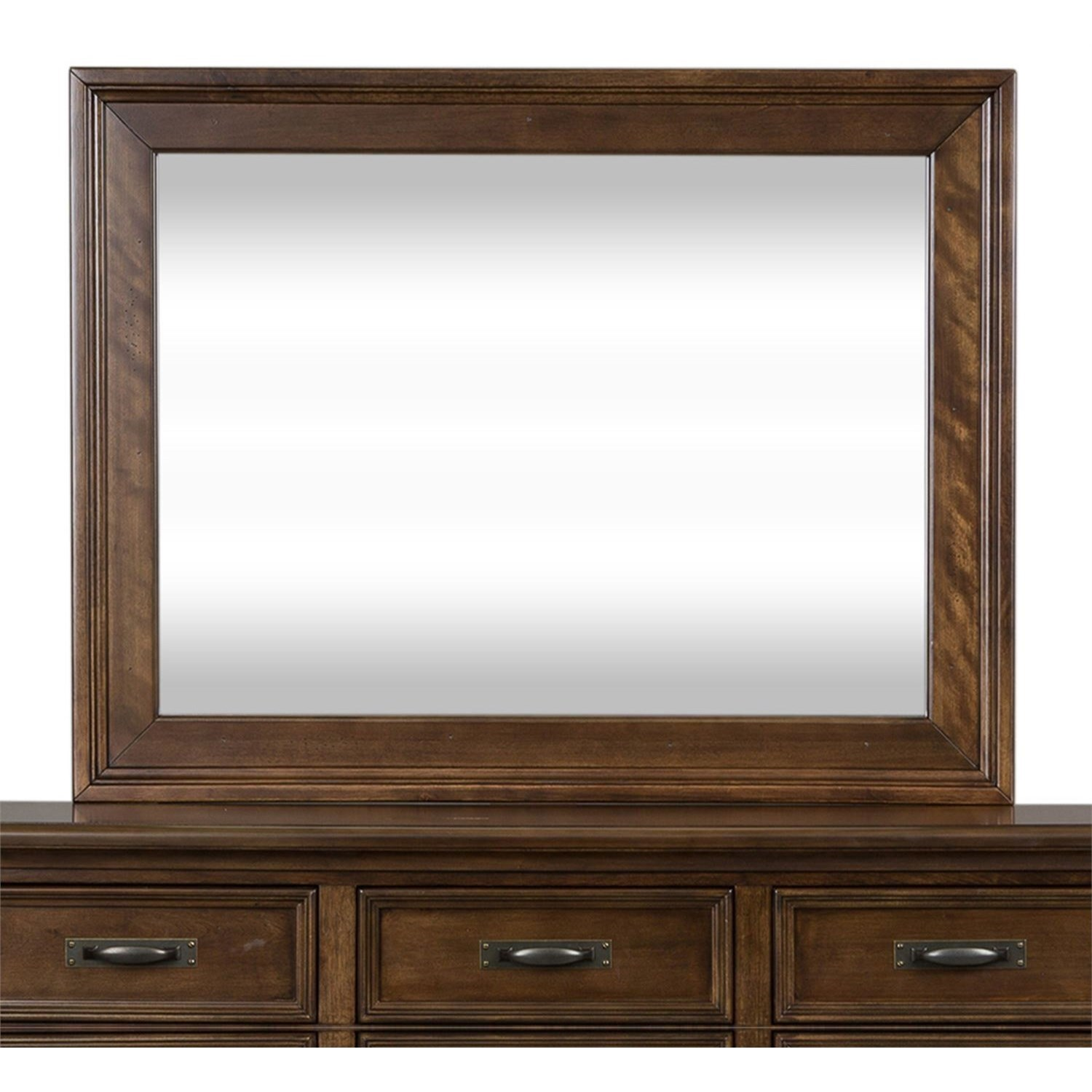 Saddlebrook Mirror by Libby at Walker's Furniture