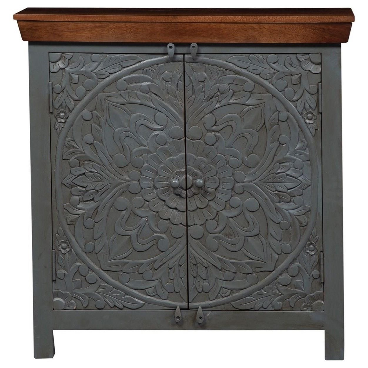 Sahana 2-Door Accent Cabinet by Libby at Walker's Furniture
