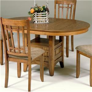 Liberty Furniture Santa Rosa Pedestal Table