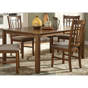 "Mission Rectangular Table with 12"" Leaf"