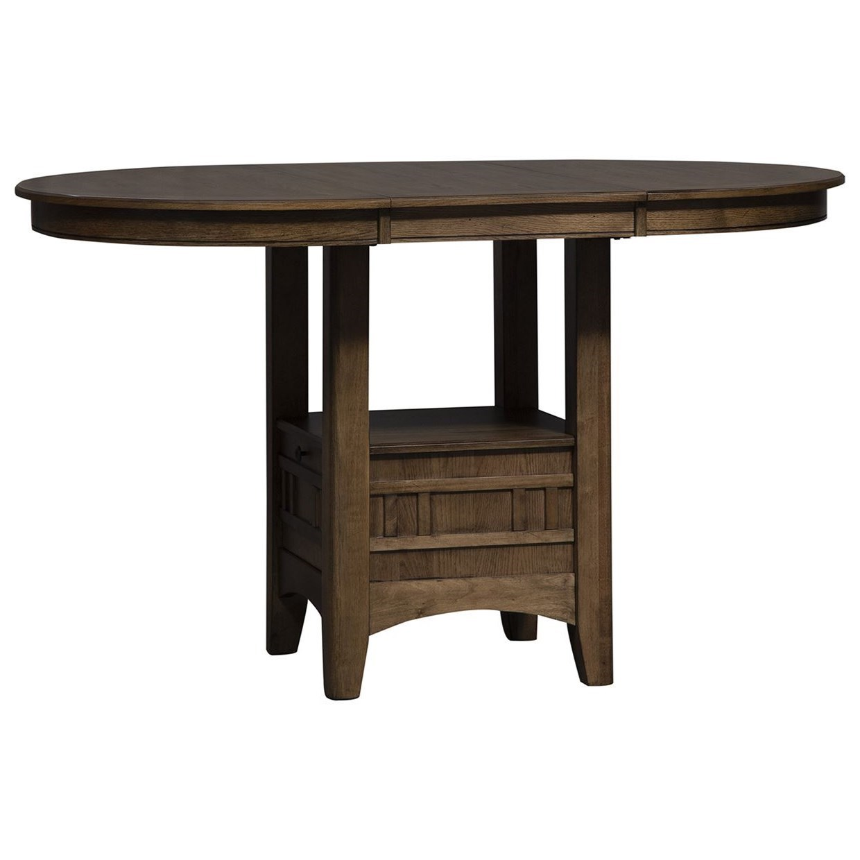 Santa Rosa II Counter Height Pub Table by Liberty Furniture at Northeast Factory Direct