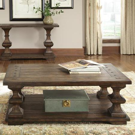 Sedona Cocktail Table by Libby at Walker's Furniture