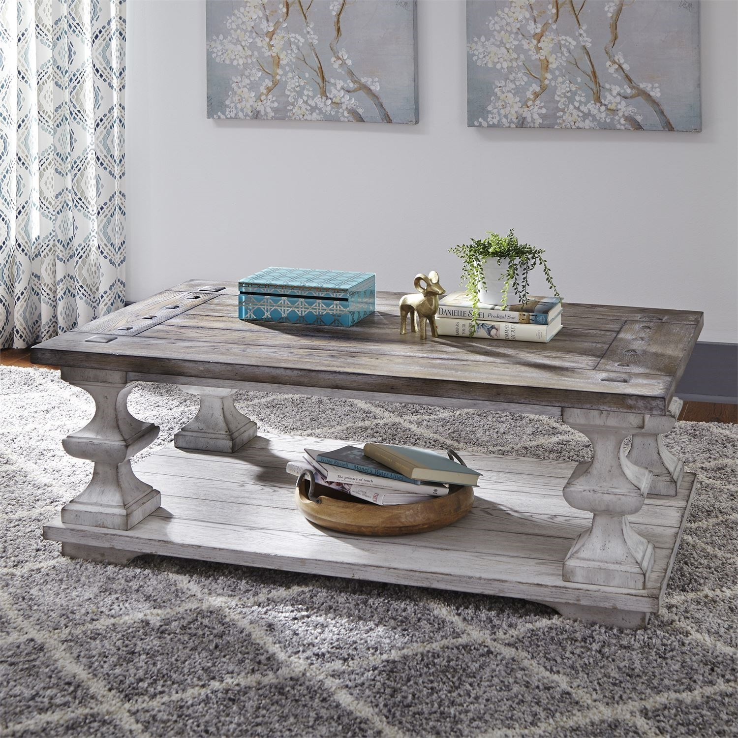 Sedona Cocktail Table by Liberty Furniture at Darvin Furniture