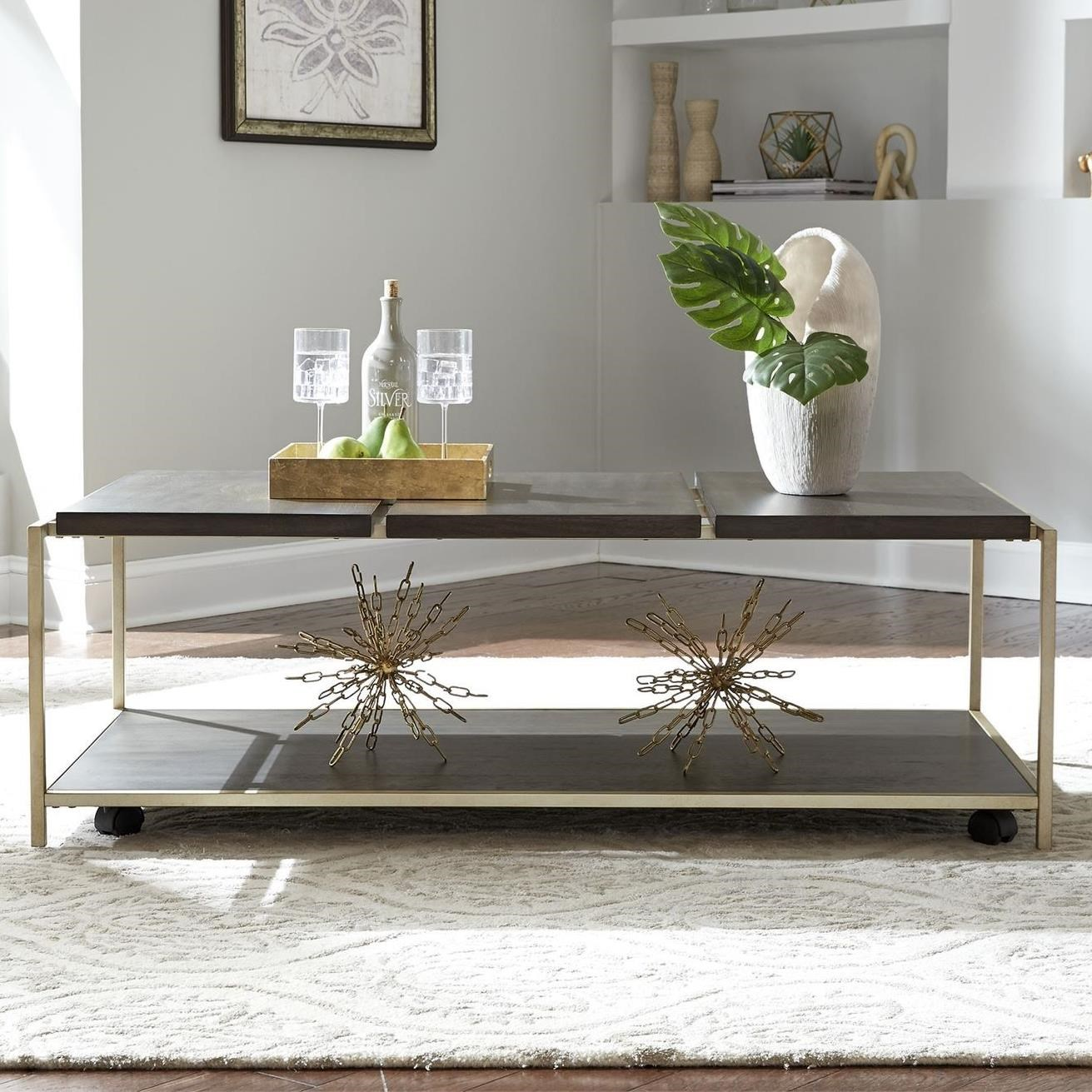 Serenity Cocktail Table by Liberty Furniture at Darvin Furniture