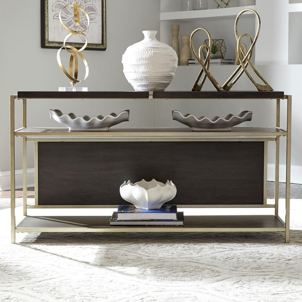 Serenity Sofa Table by Libby at Walker's Furniture
