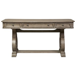 Cottage Writing Desk with Two Pencil Drawers