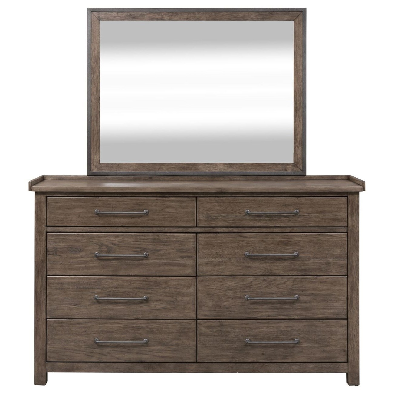 Sonoma Road Dresser & Mirror  by Liberty Furniture at Home Collections Furniture