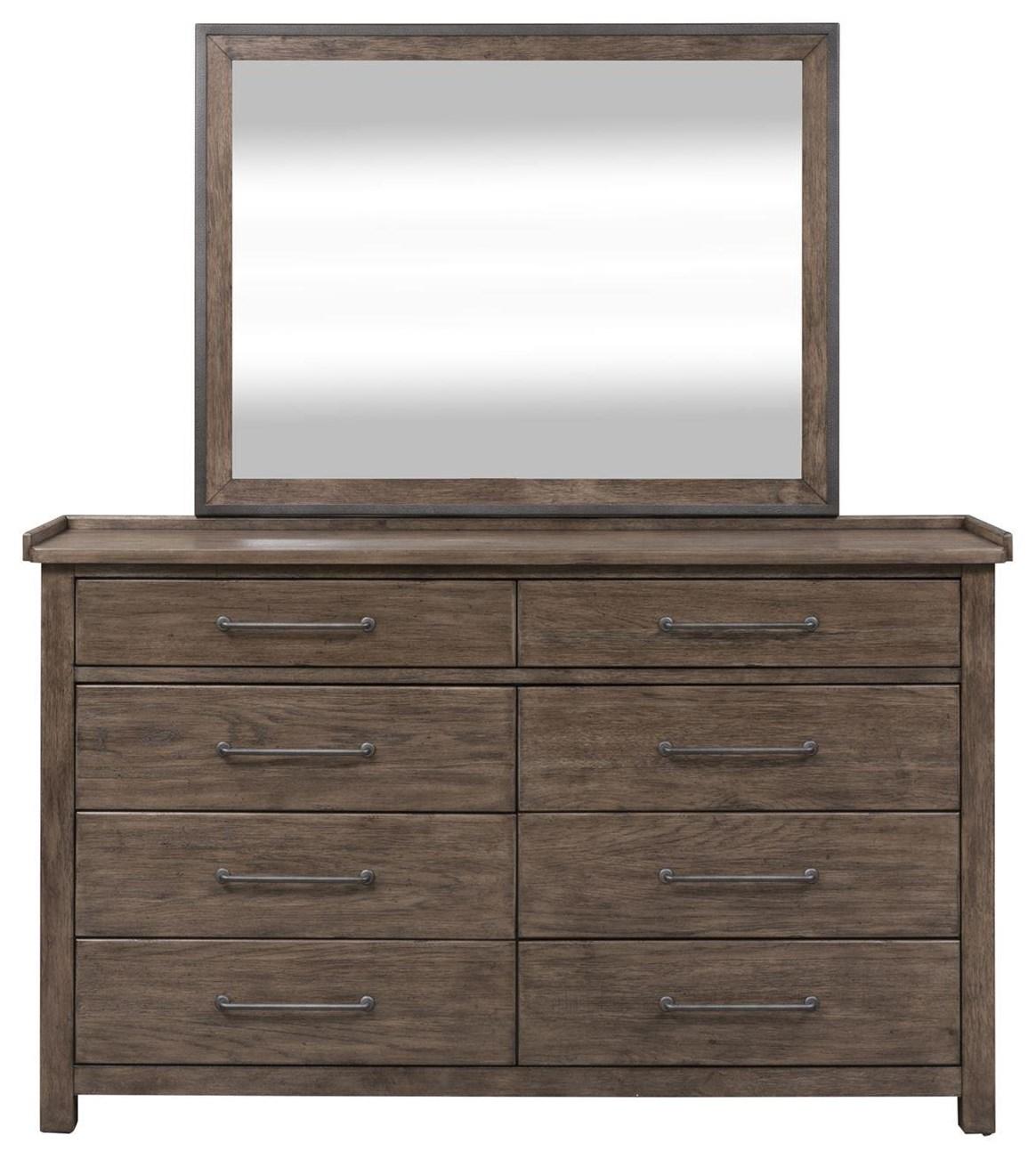 Sonoma Road Dresser & Mirror  by Freedom Furniture at Ruby Gordon Home