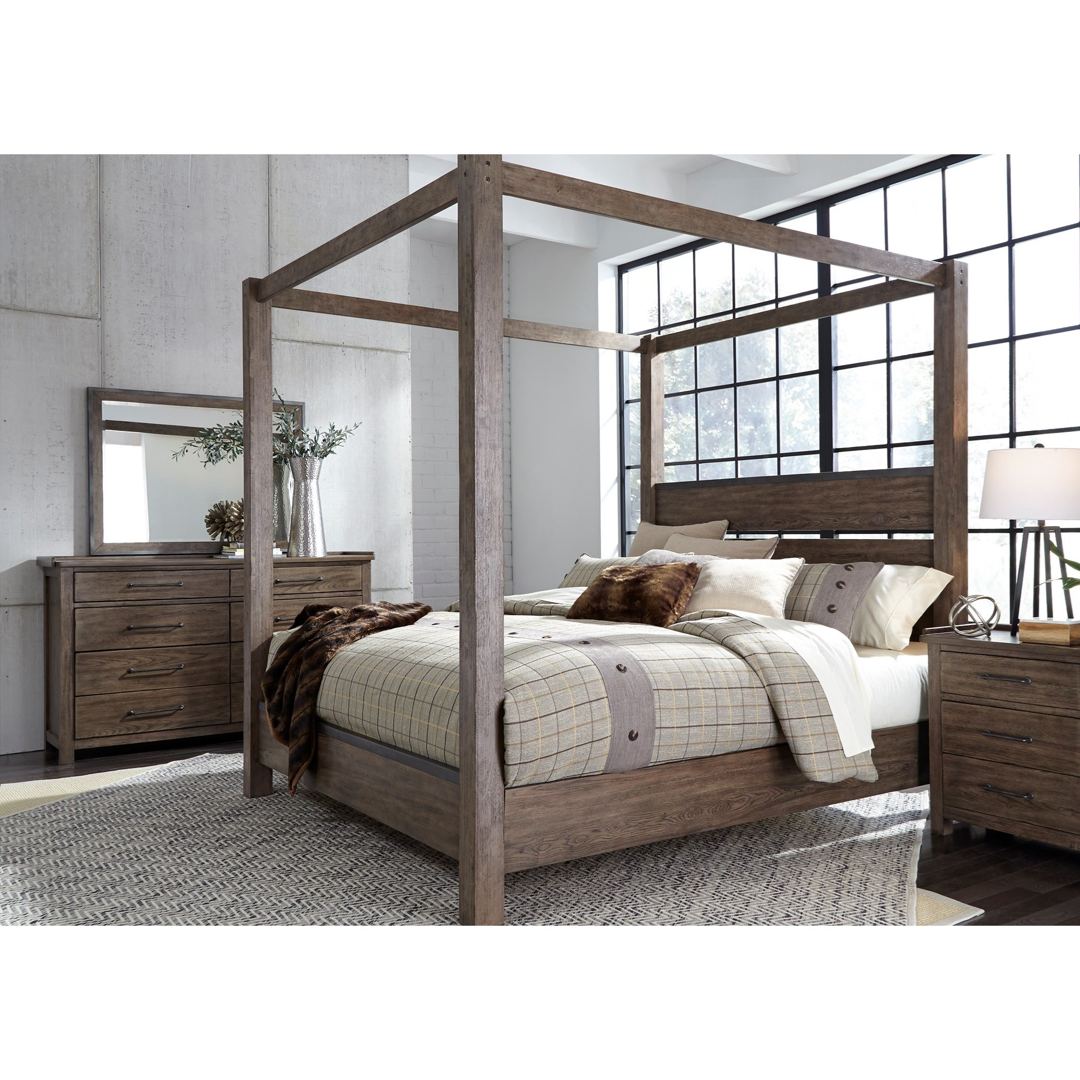Sonoma Road California King Bedroom Group by Liberty Furniture at Westrich Furniture & Appliances