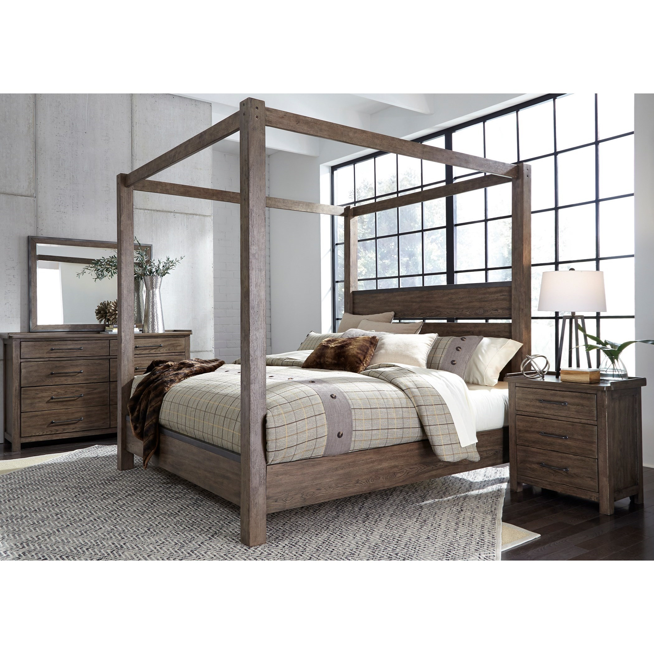 Sonoma Road King Bedroom Group  by Liberty Furniture at Northeast Factory Direct