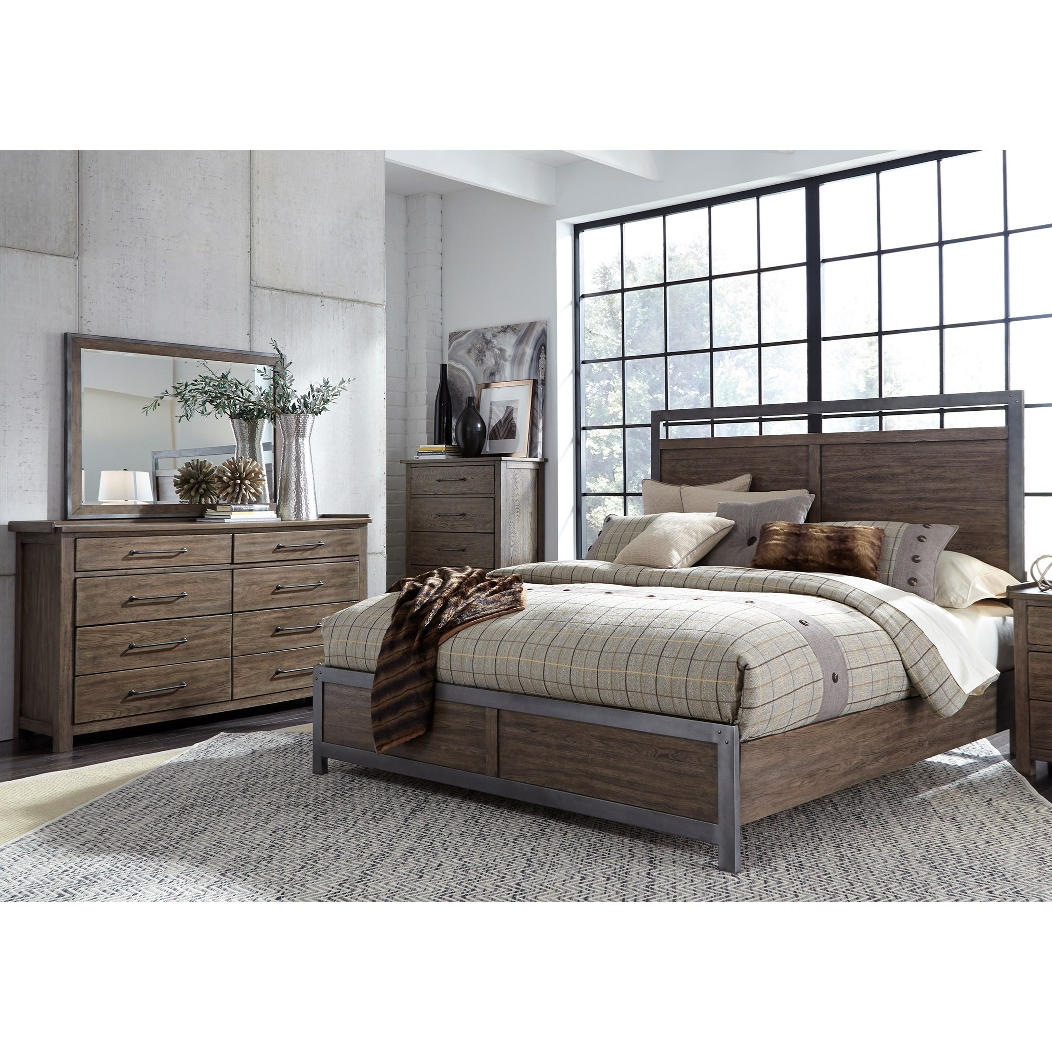 Sonoma Road Queen Bedroom Group  by Liberty Furniture at Wayside Furniture