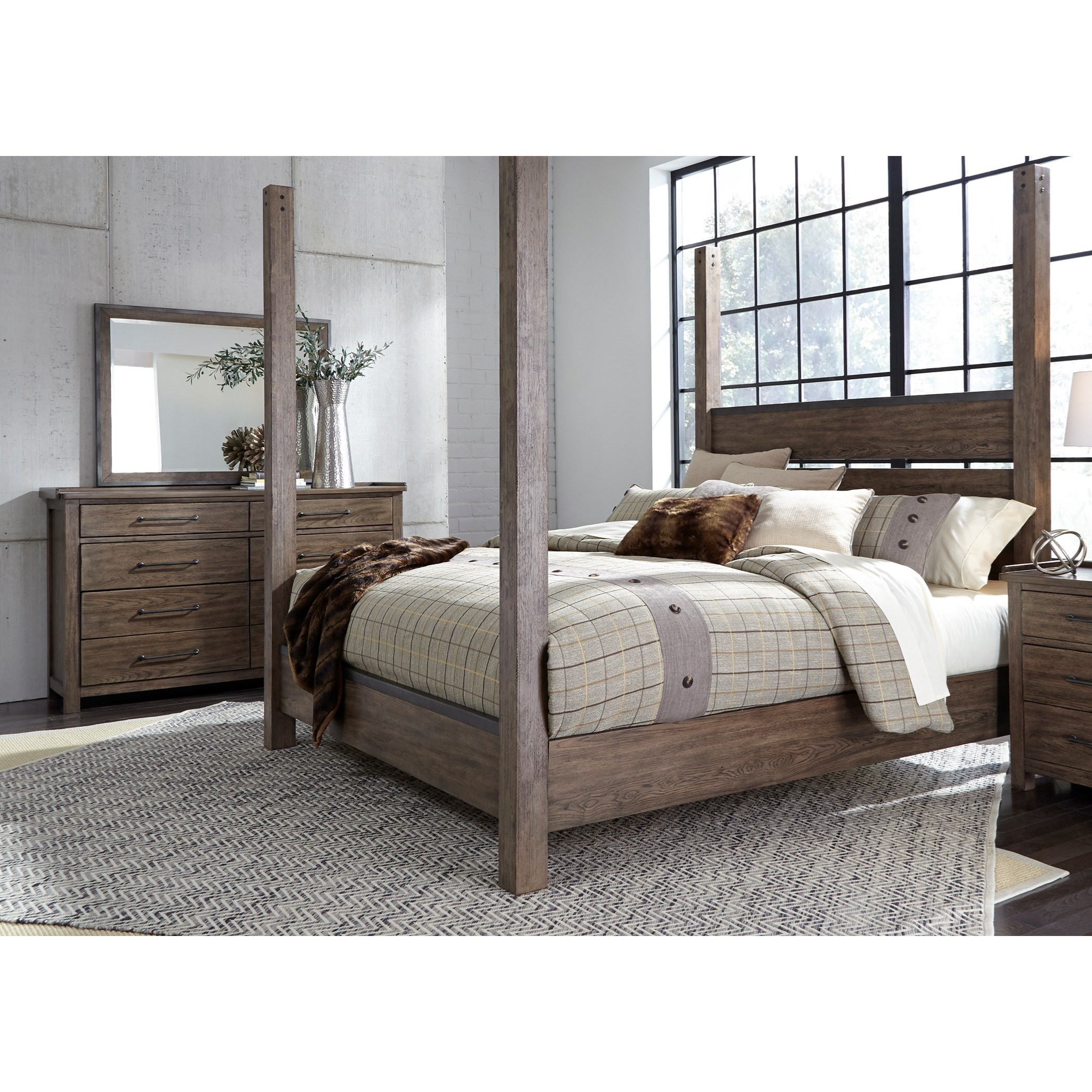 Sonoma Road California King Bedroom Group by Liberty Furniture at SuperStore