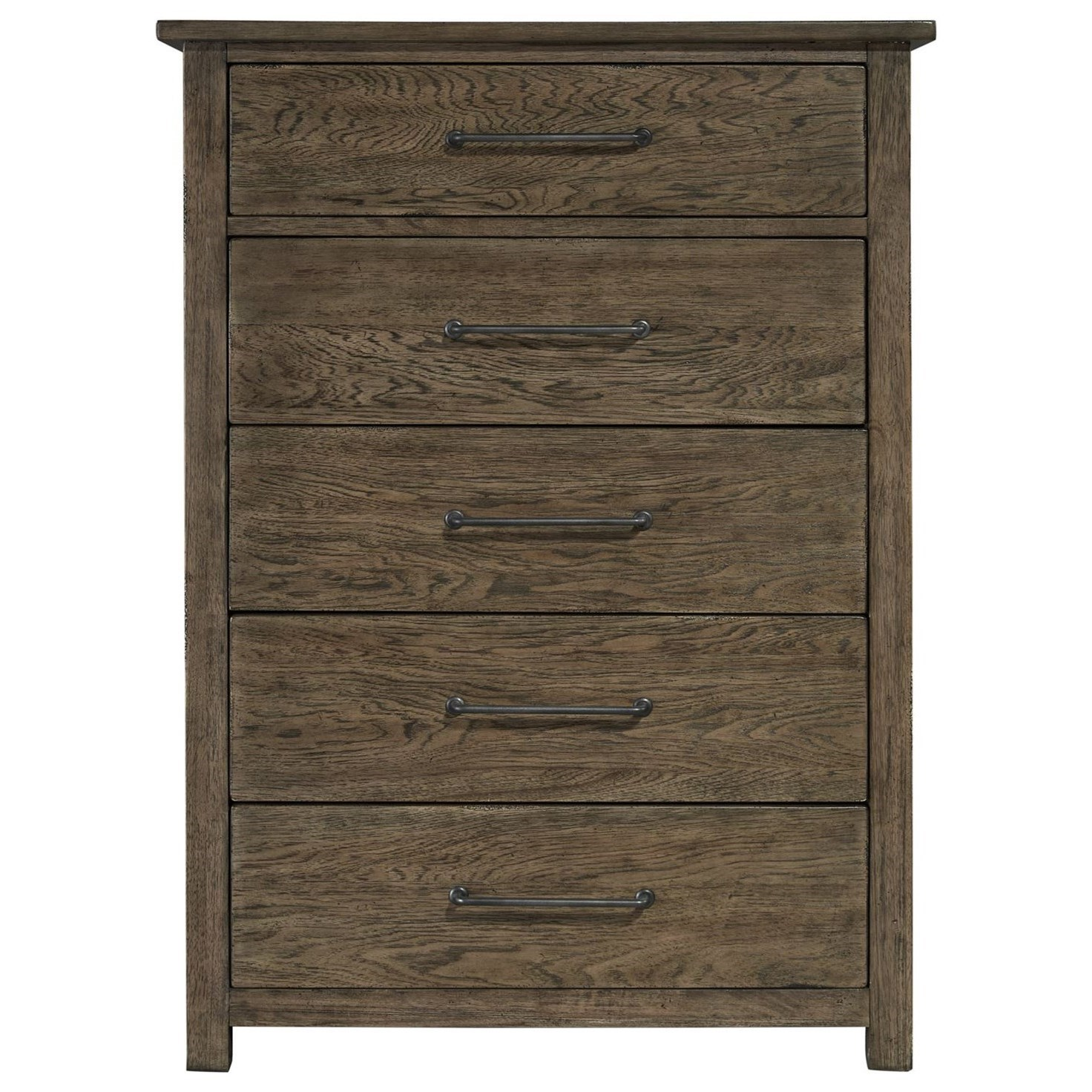 Sonoma Road 5 Drawer Chest by Liberty Furniture at Home Collections Furniture