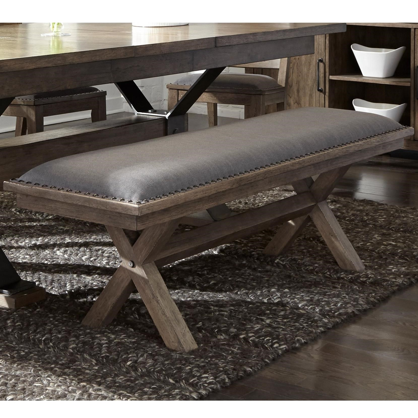 Sonoma Road Dining Bench by Liberty Furniture at Lapeer Furniture & Mattress Center