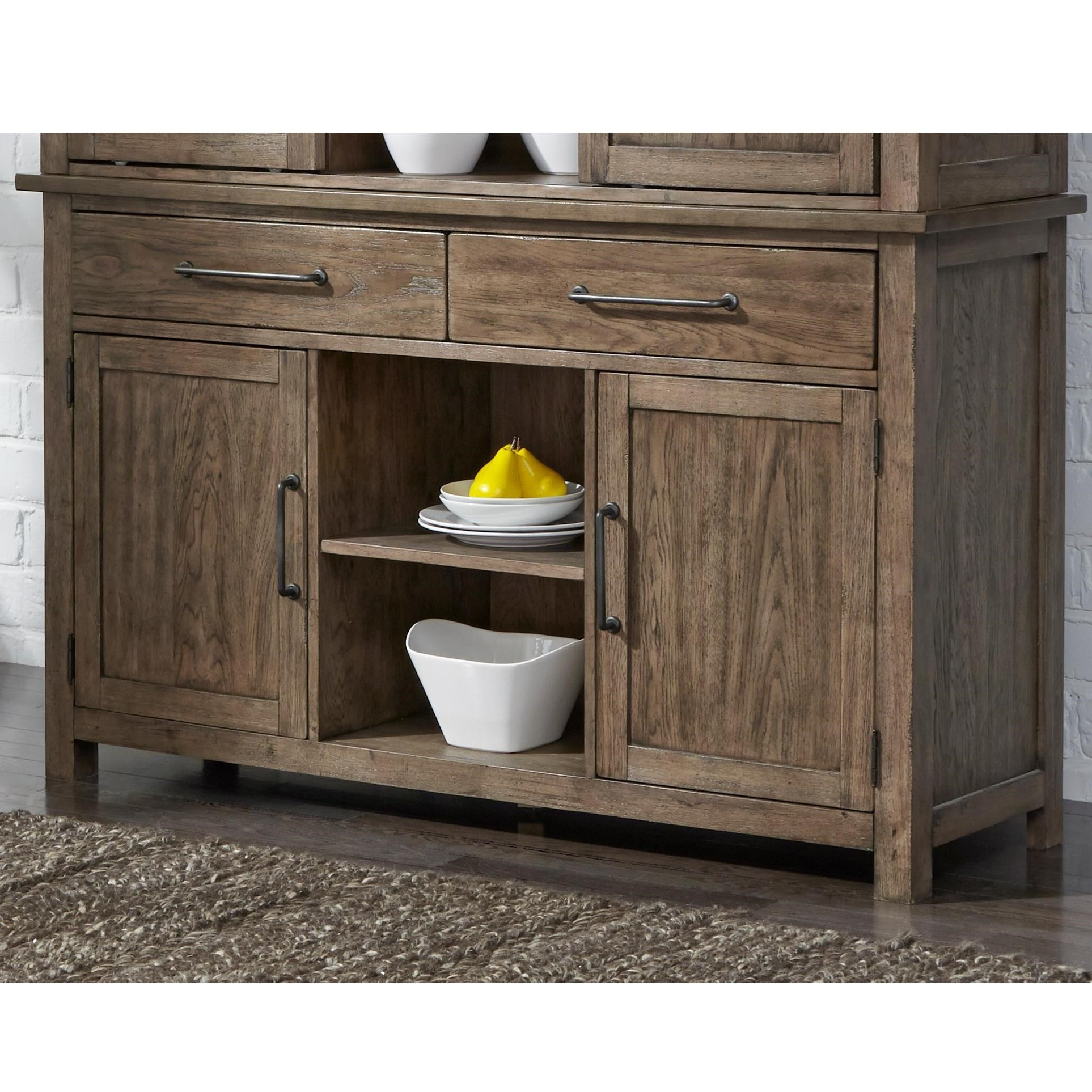 Sonoma Road Buffet by Liberty Furniture at Lapeer Furniture & Mattress Center