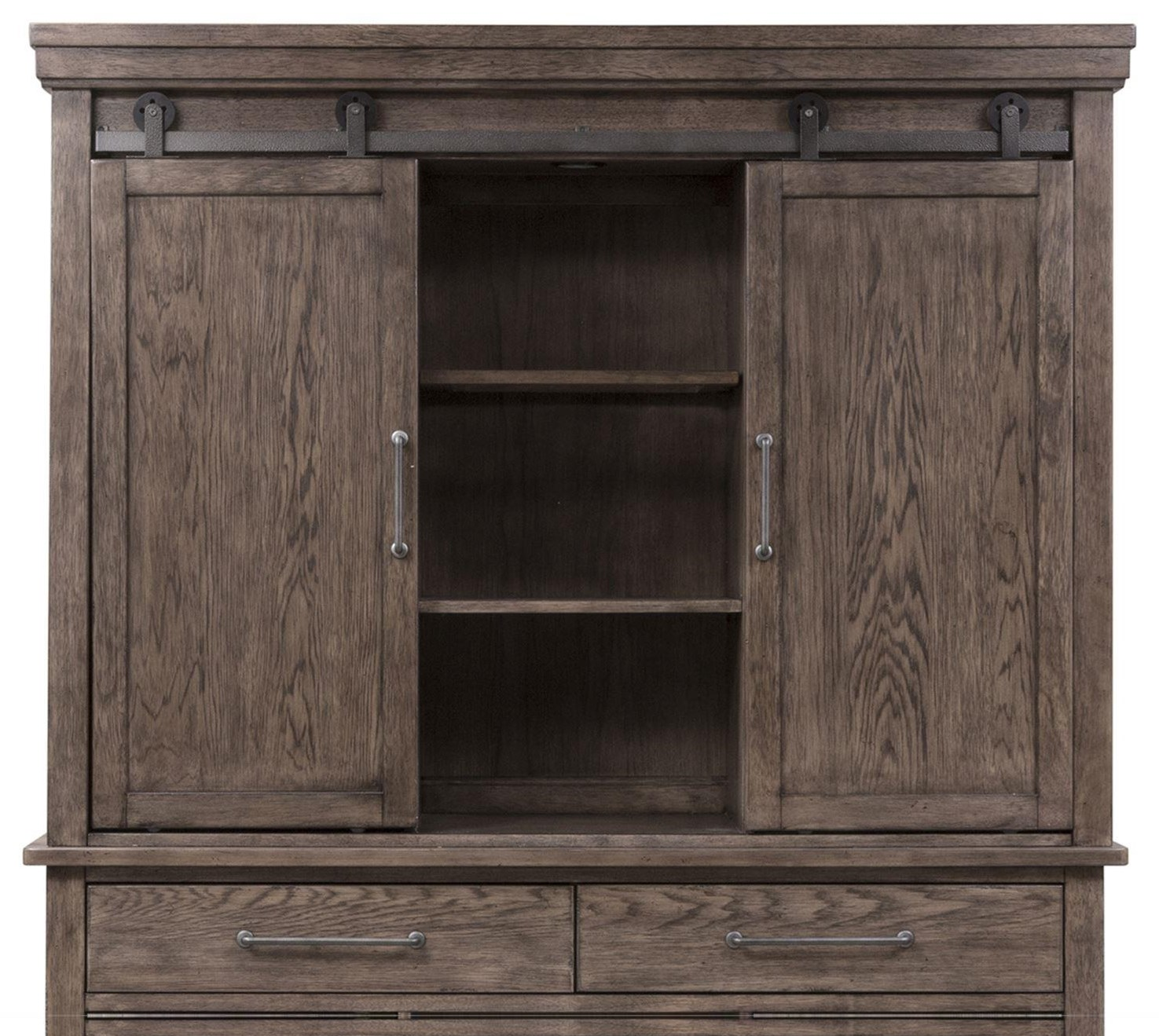 Sonoma Road Hutch by Freedom Furniture at Ruby Gordon Home