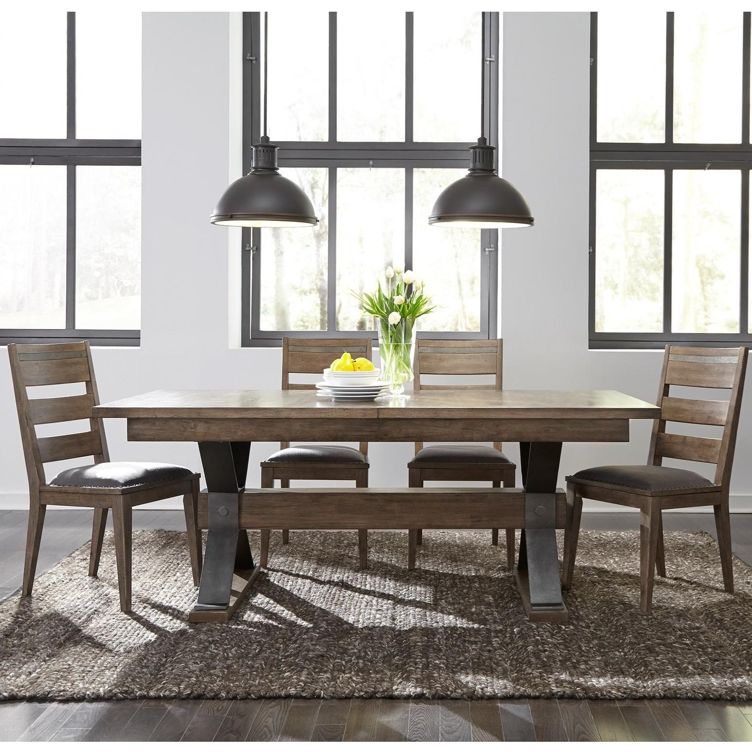 Sonoma Road 5 Piece Table and Chair Set  by Liberty Furniture at Johnny Janosik