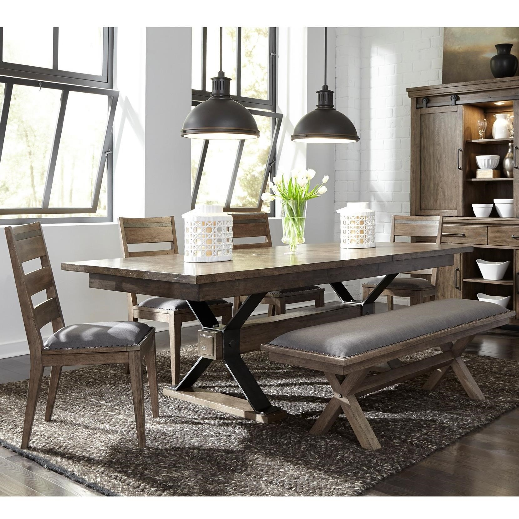 Sonoma Road 6 Piece Table and Chair Set  by Liberty Furniture at Johnny Janosik