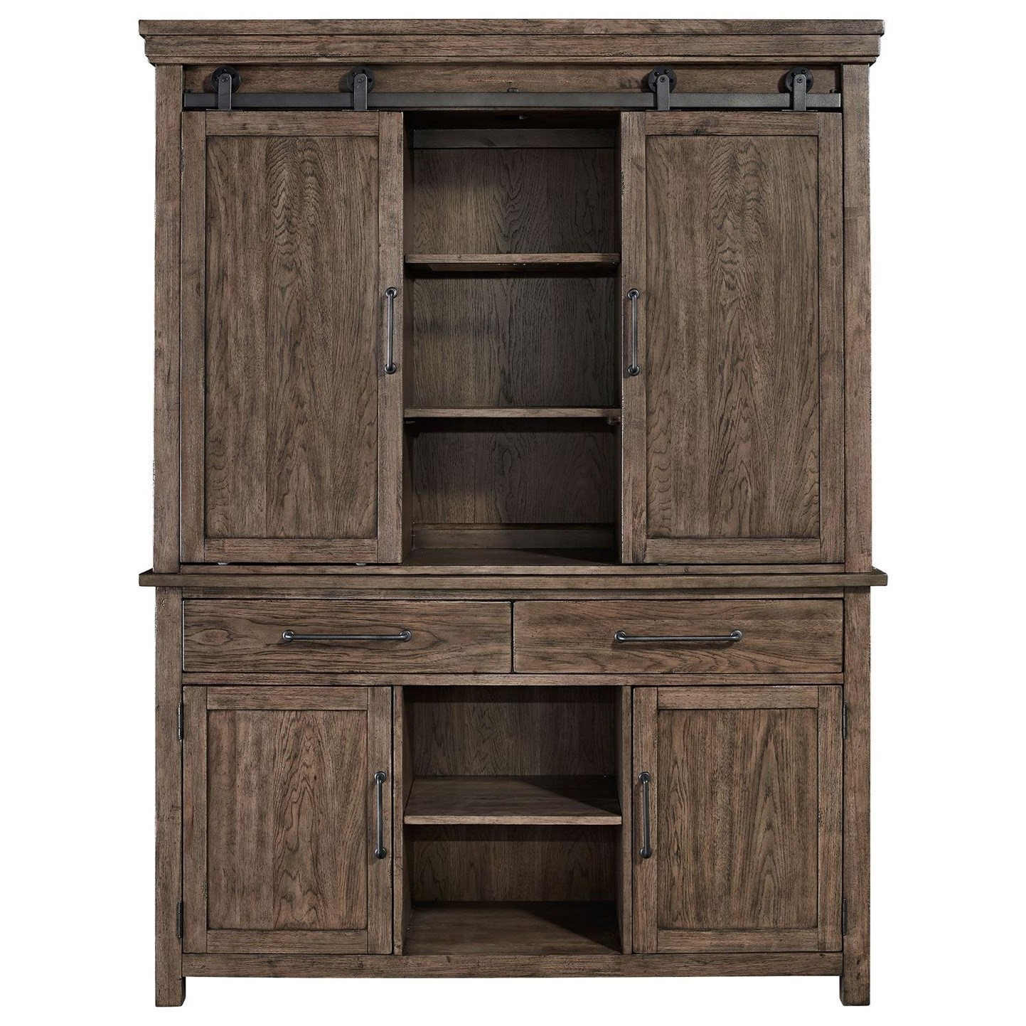 Sonoma Road Hutch & Buffet  by Liberty Furniture at Northeast Factory Direct