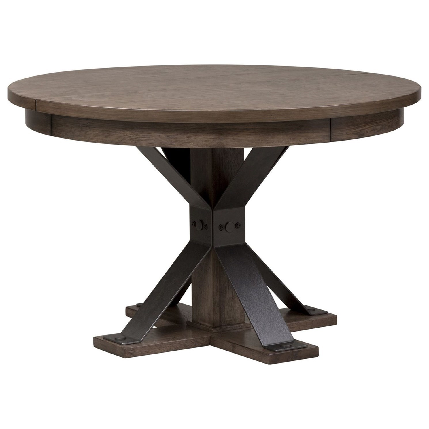Sonoma Road Oval Pedestal Table by Libby at Walker's Furniture