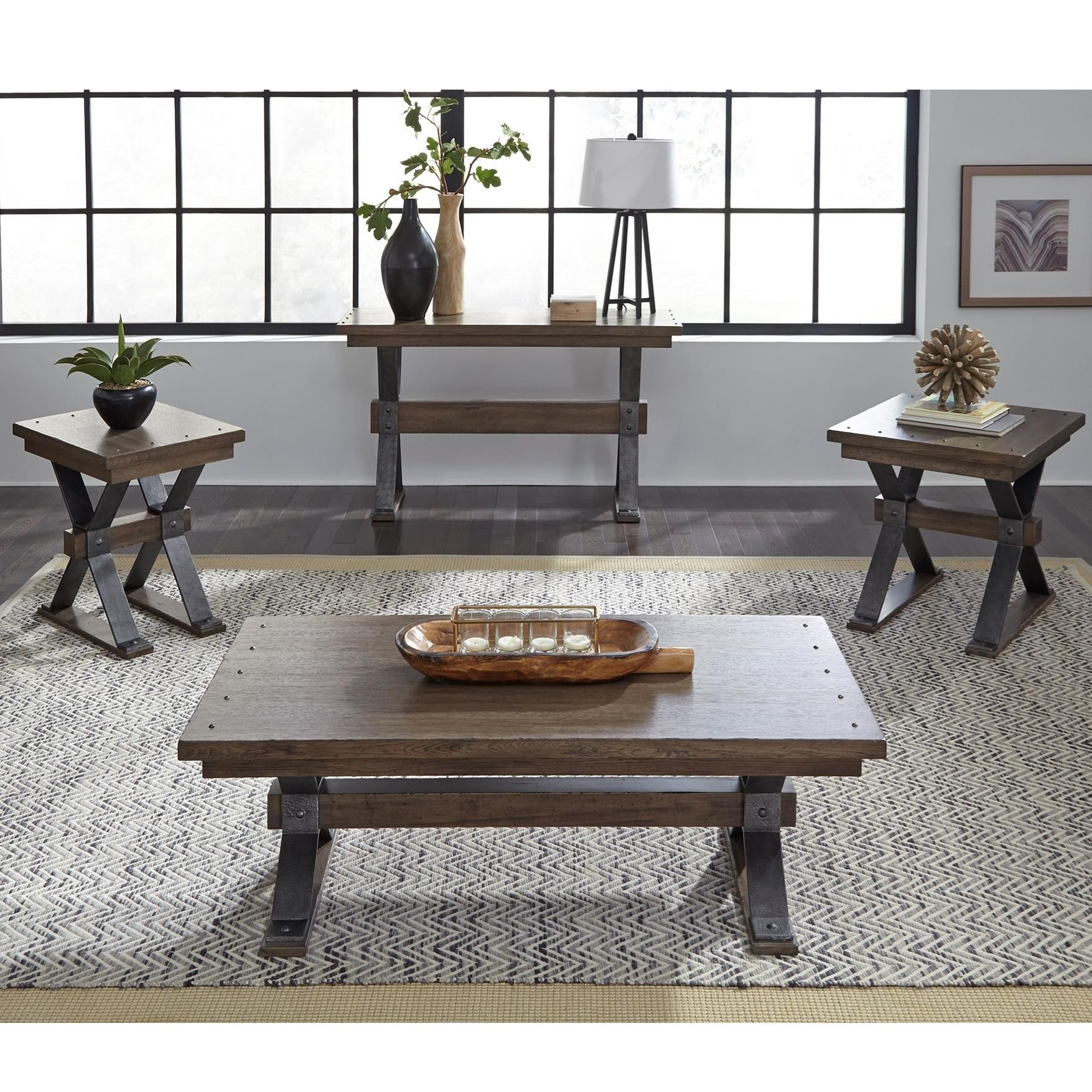 Sonoma Road Occasional Table Group by Sarah Randolph Designs at Virginia Furniture Market