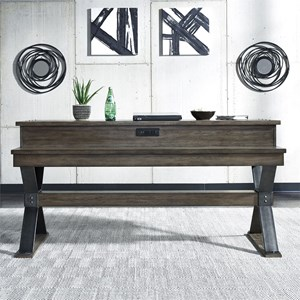 Contemporary Console Bar Table with Charging Station