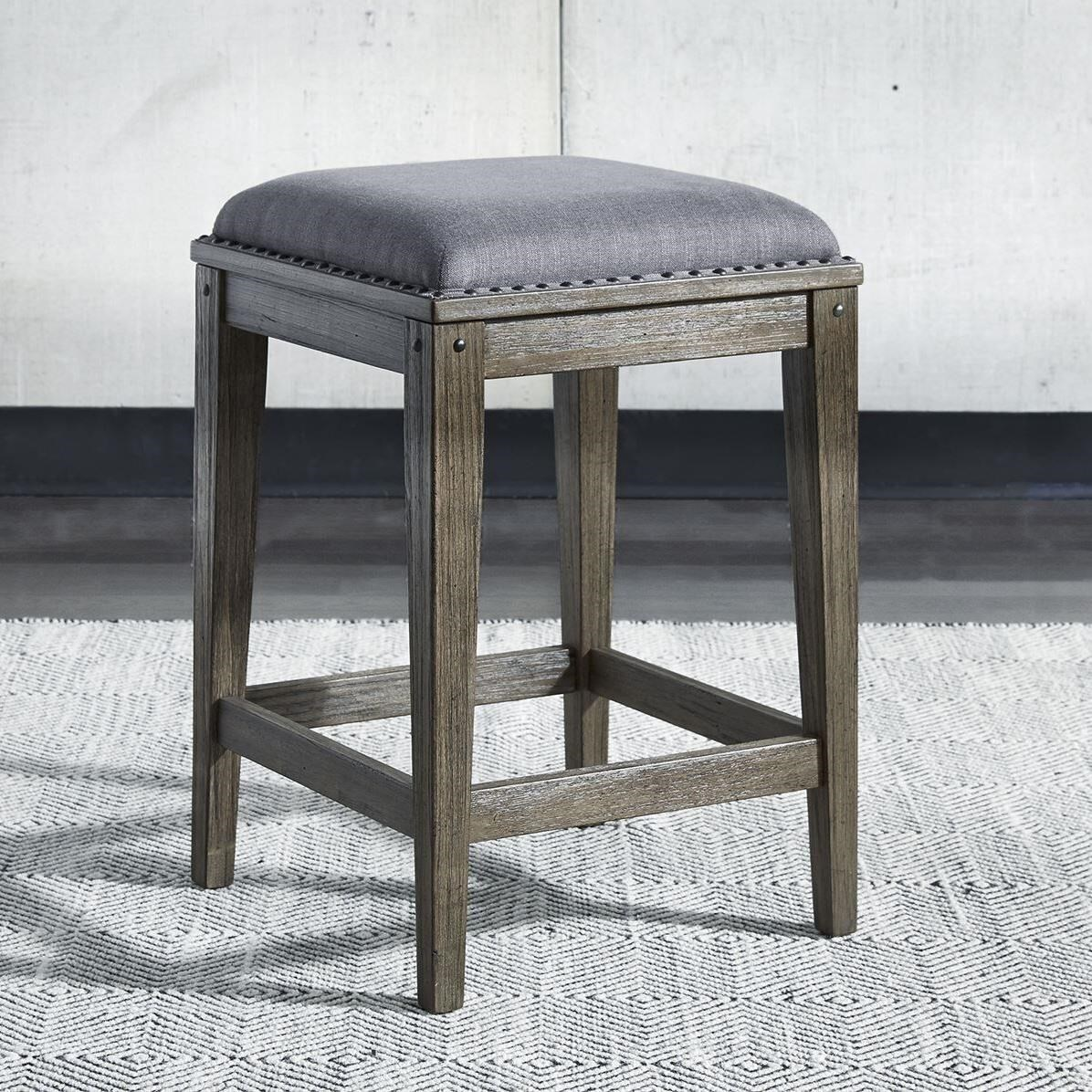 Sonoma Road Console Stool by Sarah Randolph Designs at Virginia Furniture Market