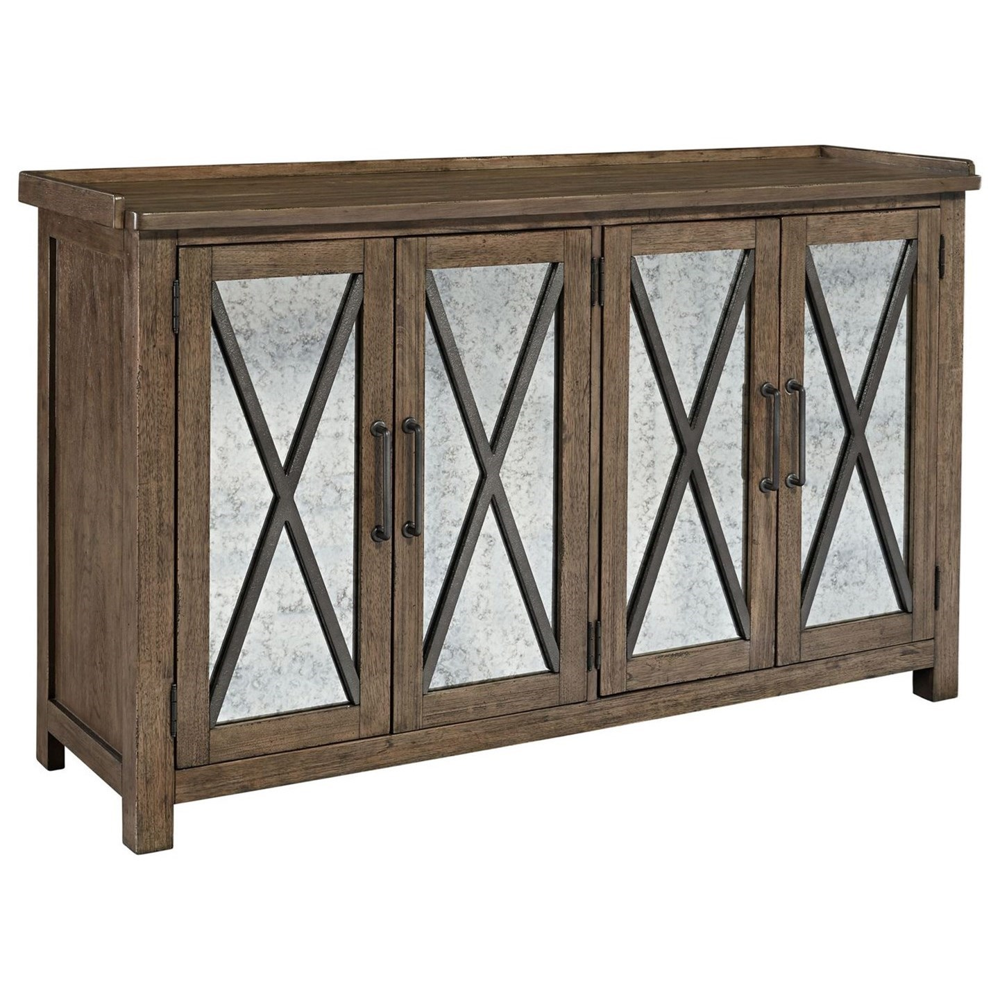 Sonoma Road Sideboard with Reversible Doors by Liberty Furniture at Wayside Furniture