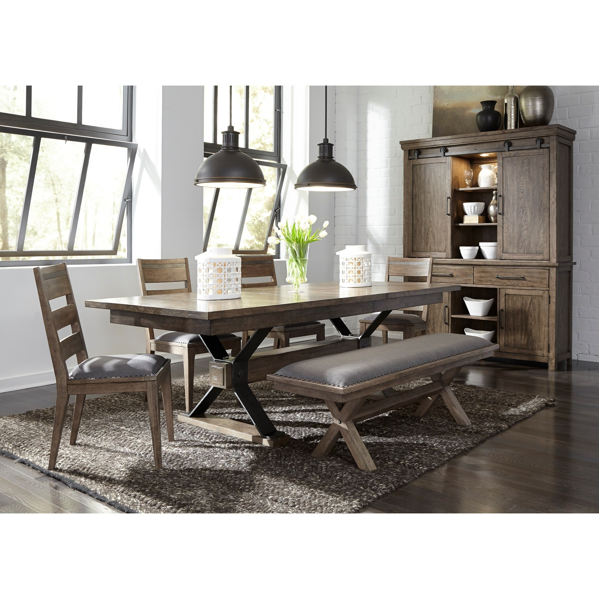 Sonoma Road Dining Room Group by Liberty Furniture at Suburban Furniture